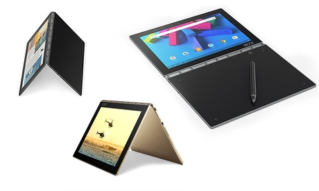 """Lenovo Yoga Book 64GB 10.1"""" Tablet with Android OS and Halo Keyboard b4711a8e-5377-11e7-a1be-00259069d7cc"""