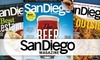 San Diego Magazine: One-, Two-, or Three-Year Print Subscription to San Diego Magazine (Up to 56% Off)