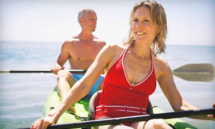 Erie Canal Boat Company - Fairport: $17 for Two-Hour Tandem-Kayak Rental from Erie Canal Boat Company ($35 Value)