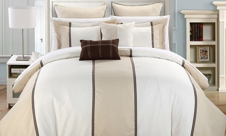 Color Block Comforter Set (7-Piece)