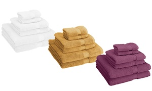 Superior 900 GSM Combed Cotton Towel Set (6-Piece)