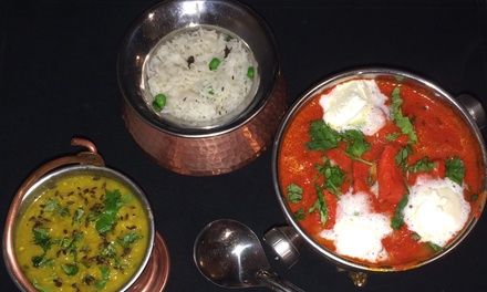 Indian Cuisine at Shandaar Indian Restaurant (Up to 40% Off). Three Options Available.