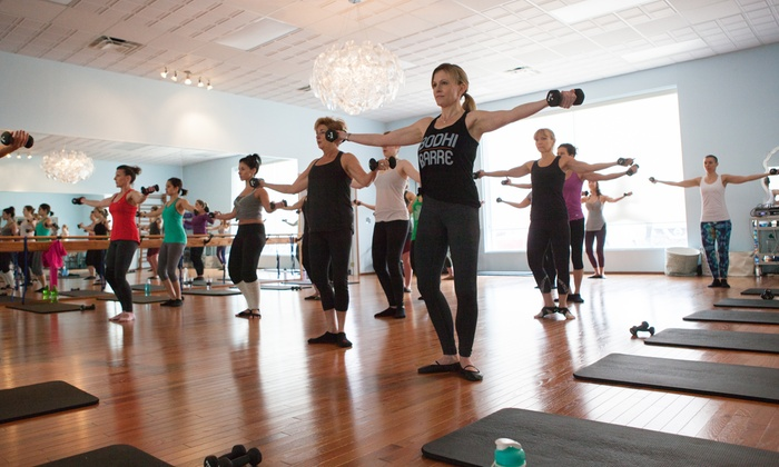 Bodhi Barre - DeWitt: Five- or Ten-Class Pass or One Month of Unlimited Classes at Bodhi Barre (Up to 60% Off)