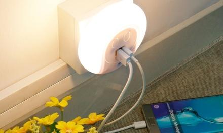 Luce LED notturna con sensore