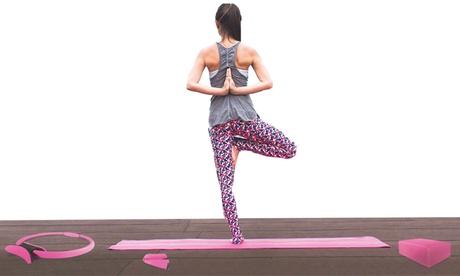 Set de hasta 4 accesorios de yoga Jocca
