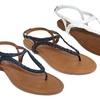 Olivia Miller Modena Women's Braided Buckle Sandals