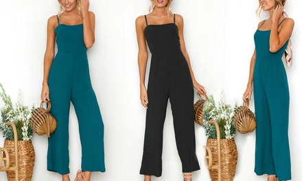Spaghetti Strap Jumpsuit: One ($19) or Two ($29)