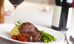 The Baron Fredman Drive: Main Meal with a Bottle of Wine from R279 for Two at The Baron Fredman Drive (Up to 51% Off)