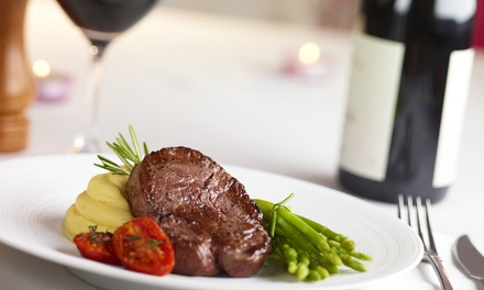 Main Meal with a Bottle of Wine from R279 for Two at The Baron Fredman Drive (Up to 51% Off)