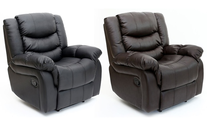 Beau Seattle Recliner Leather Chair ...