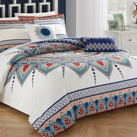 Deals on Boho Cotton Comforter Set 5-Pc or Duvet or Quilt Cover Set