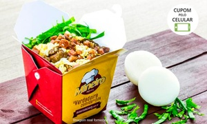 Mineiro Delivery - Brasília: Comida no box para 1 ou 2 pessoas + bebida no Mineiro Delivery - Asa Norte