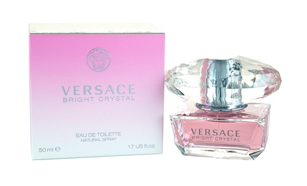 Versace Bright Crystal Women's Eau de Toilette Spray; 1.7 Fl. Oz.