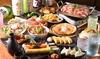 2名分~|牛バラ鉄板焼き、新鮮お刺身など51品食べ放題+飲み放題180分