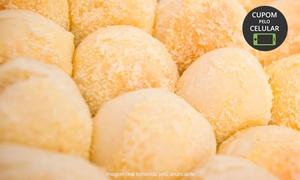 Pãozinho e Cia - Fábrica de Salgados: Pãozinho e Cia - Vila Laura: 50, 80 ou 100 unidades de pãozinho Delícia