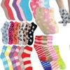 Women's Assorted Plush Soft Fuzzy Crew Socks (6 Pairs)