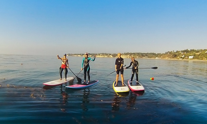 Hana Paddle Boards - Old Agoura: Stand-Up Paddleboard Tour for One, Two, Four, or Six at Hana Paddle Boards (Up to 67% Off)
