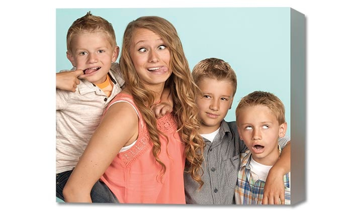 JCPenney Portraits - Multiple Locations: Photo Shoot with Gallery Wrap at JCPenney Portraits (86% Off)