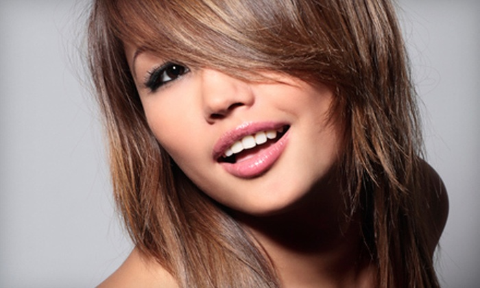 Blis Salon - Provincetowne: Haircut and Style with Optional Partial Foil Highlights or All-Over Color at Blis Salon (Up to 57% Off)