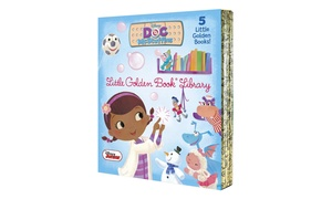 Disney Junior Doc McStuffins Little Golden Kids' Book Library (5-Pack)