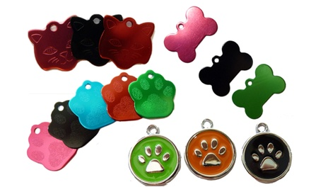 Personalised Engraved Pet ID Tag: One $9, Two $14 or Three Tags $19 Don't Pay up to $60