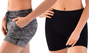 Clanec Women's Yoga Shorts