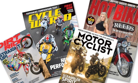 One-Year Subscription to Motorcyclist, Dirt Rider, Cycle World, or Hot Bike Magazines (Up to 53% Off) 874bc808-c88c-4b53-81f4-84a1368057a5