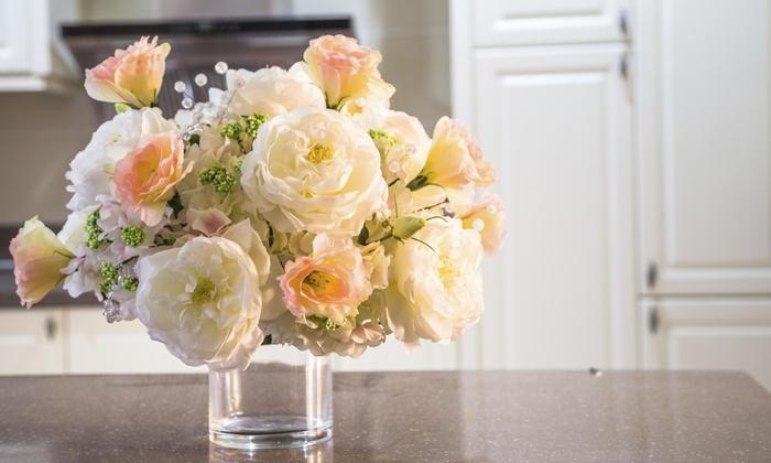 Floral arrangement services jl groupon