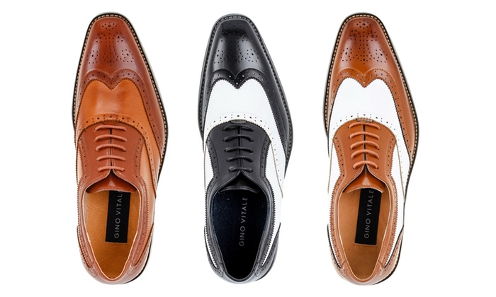 Up To 70% Off on Gino Vitale Men's Oxford Shoes