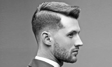 One or Three Men's Traditional Haircuts and Styles at Hair M (Up to 42%Off)
