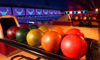 Up to 55% Off Two Hours of Bowling and Shoe Rentals