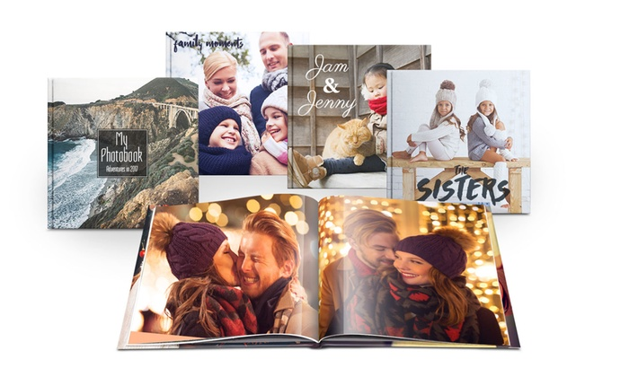 1 livre photo 20x20 ou A4 de 20, 40, 60 ou 100 pages à personnaliser en ligne sur Printerprix dès 2,99 € (jusqu'à -88%)