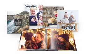 Livre photo A4 couverture rigide Printerpix