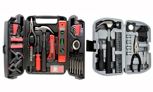 Hand Tool Set with Storage Case (39- or 131-Piece)