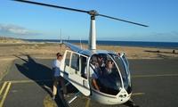 Paseo en helicóptero de 20 minutos con foto de la experiencia por 89,90 € en Canarias Helicopters