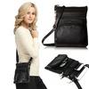 Super Soft 4-Zippered Crossbody Bag