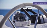 Alquiler de 2 o 4 horas de barca rígida para navegar sin licencia desde 39,95 € en CNM