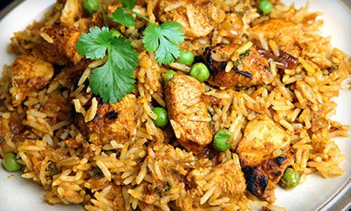 Piara Tandoori King - O'Fallon: Indian Dinner for Two or Four at Piara Tandoori King (54% Off)