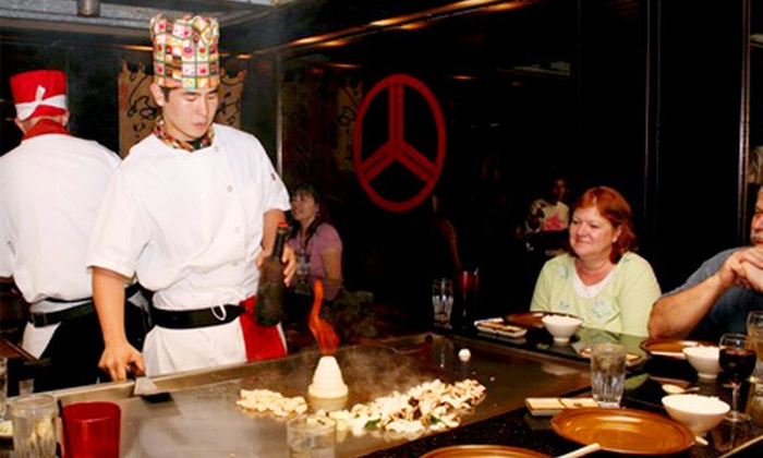 Kobe Steak House - Waikiki: $25 for $50 Worth of Teppanyaki and Sushi at Kobe Steak House