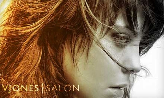 V Jones Salon - San Jose: $45 for a Haircut, Style, and Kérastase Treatment at V Jones Salon ($95 Value)