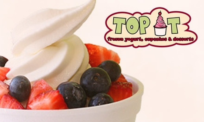 Top It Frozen Yogurt - Holladay: $3 for $8 Worth of Frozen Yogurt from Top It Frozen Yogurt