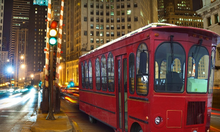 Illinois Classic Trolleys - Near North Side: Three-Hour Trolley Rental from Illinois Classic Trolleys (Up to 58% Off). Two Options Available.