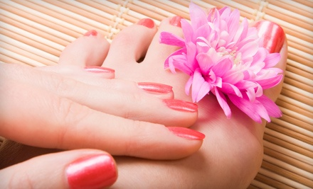 Basic Mani-Pedi with OPI Products (a $43 value) - Fox Nails Day Spa in Stamford