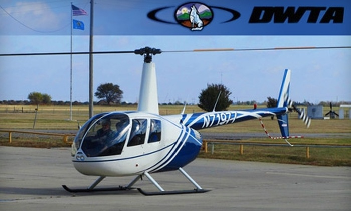 DWTA Premier Aviation Services - Wichita: $950 for a 12-Week Private Pilot Helicopter Certification Course (Ground School), Plus One Discovery Helicopter Flight at DWTA Premier Aviation Services