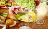 Dining Delicacies : $75 for a Private Romantic Dinner for Two from Dining Delicacies ($150 Value)