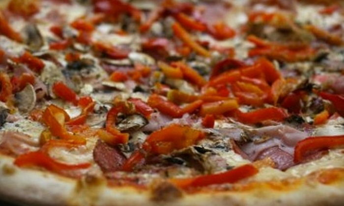 Bella Noella's Pizza - Downtown: $9 for a Three-Topping Medium Pizza and One Pound of Wings at Bella Noella's Pizza ($18.98 Value)
