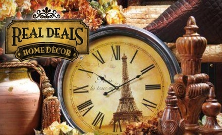 $30 Groupon to Real Deals on Home Decor - Real Deals on Home Decor in Amarillo