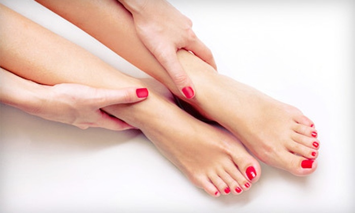 The Body Sanctuary Spa & Wellness Center - Westlake Village: Nail Services at The Body Sanctuary Spa & Wellness Center in Westlake Village (Up to 61% Off). Three Options Available.