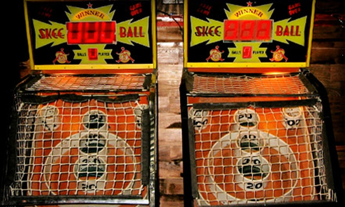 SkeeNation - Multiple Locations: Skee-ball Registration and Play from SkeeNation. Two Locations Available.