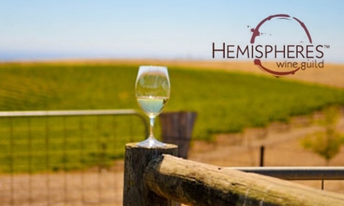 Hemispheres Wine Guild - Vancouver: $149 for a Three-Month Introductory Membership and Six Bottles of Ultra-Premium Wine from Hemispheres Wine Guild ($350 Value)